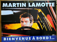 Plakat Welcome To A Bord! Jean-Louis Leconte Martin Lamotte 60x80cm