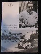 Card Manfred von Brauchitsch (GER) #6 Mercedes W154 Grand Prrix Belgrade (MBC)