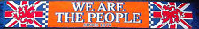RANGERS FC SCARF ORANGE WE ARE THE PEOPLE