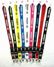 Adidas Lanyard Detachable Keychain Clip, ID Holder, Camera Phone Strap FAST SHIP