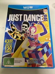 Just Dance 2016 with Manual PAL Version For Nintendo Wii U