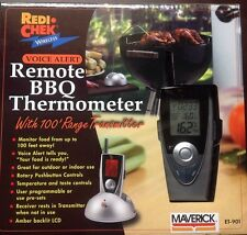 Maverick ET901 Remote BBQ Voice Alert Thermometer Digital Meat Grill Temperature