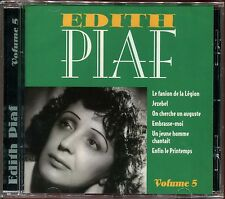 EDITH PIAF - VOLUME 5 - BEST OF CD ALBUM NEUF ET SOUS CELLO