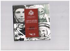 SAN MARINO - BU-SET - 2011 - First Man in Space + 1 coin of 5 Euro