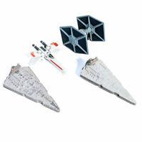 Star Wars Die Cast Micro Machine Imperial Star Destroyer Tie Fighter Galoob Lot