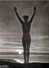 """Héliogravure - 1925 -      """" L'aube  -  H.E. Gaze """""""