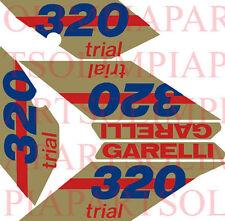 GARELLI 320 TRIAL SERIE ADESIVI STICKERS