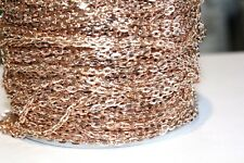 32ft 4x2.7mm Copper Over Iron Chain 1-3 day Ship