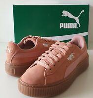 Chaussures Baskets Puma Suede Platform Animal en promotion