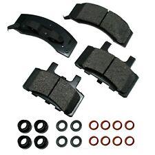 Disc Brake Pad Set-Proact Ultra Premium Ceramic Pads Front Akebono ACT370