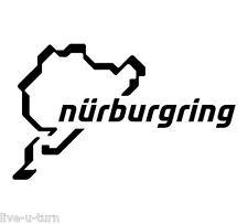 Sticker Autocollant NÜRBURGRING - Vinyl brillant couleur au choix