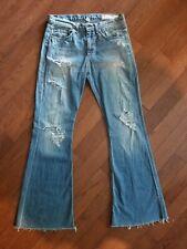 Rag & Bone Jeans Flare Destroyed Distressed Size 29