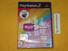 EYE TOY GROOVE   PS2 SONY PLAYSTATION 2 VERSIONE ITALIANA NUOVO SIGILLATO