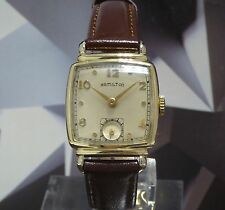 Vintage Hamilton Norman 1949 Wristwatch 19 Jewels One Year Warranty