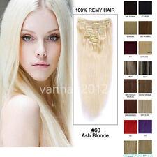 EXTENSIONS DE CHEVEUX A CLIPS 100% NATURELS REMY HAIR 38/46/51/56/60/66/71cm