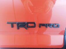 2015-2017 TOYOTA TACOMA NEW TRD-PRO FACTORY BLACK EMBLEM