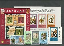 13176/ Karibik LOT ** MNH Grenada Royal