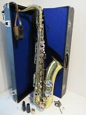 GDR Berg Larsen Tenor Saxophone with Case (Weltklang)
