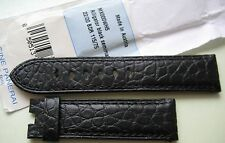 GENUINE OFFICINE PANERAI WATCH 22mm STRAP BAND BLACK ALLIGATOR LEATHER 22/20 NEW