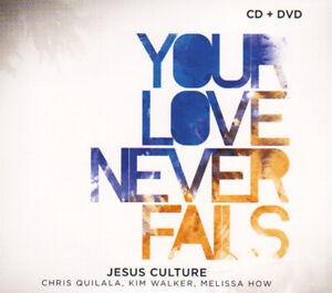 Jesus Culture • Your Love Never Fails CD + DVD 2008 Jesus Culture Music ••NEW••