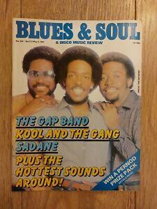 BLUES & SOUL MAGAZINE #328 APRIL 1981 THE GAP BAND SADANE KOOL AND THE GANG