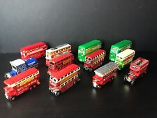 1/76 London Transport Model Bus Joblot of 11 Buses 1 Express Dairy
