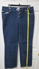 Ann Taylor Loft Women's Dark Wash Blue Jeans Size 10P -