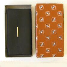 Porte carte revue ancien - LE TANNEUR - Cuir noir boîte d'origine -  Sacoche