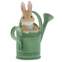 Beatrix Potter Peter Rabbit In Watering Can Mini Figure A28296 Figurine New