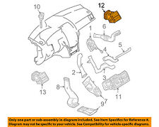Dash A/C AC Heater-Vent Air Outlet Louvre Right 20483008549116