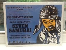 SEVEN SAMURAI Card Backed Film Poster - Brand New & Sealed 16 x 12 Inches