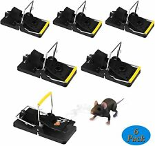 More details for zorara rat trap, mouse trap 6 pack reusable effective rat trap blow trap, easy s