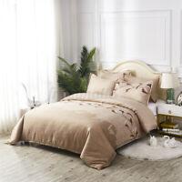 2/3pc Duvet Quilt Cover Warm Bedding Set + Pillowcase Single Double King