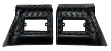 Fender Bug Chip Guards Front Body Armor for Jeep TJ Wrangler 97-06 Rugged Ridge