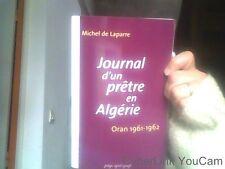 Michel de Laparre pour Journal d,un pretre en Algerie. Oran 1961-1962