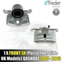 For Nissan Qashqai Front Left Brake Caliper 2007-2013 Passenger Side N/S NEW