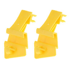 2Pcs Hood Stay Holder Clip Clamp Stopper for Ford Fiesta 2011-2012