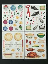 Creative Memories Christmas Sticker pack Scrapbook 15 Sheets Holidays