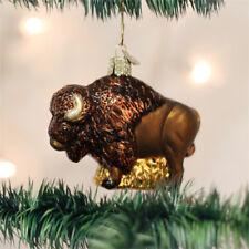 Buffalo Glass Ornament