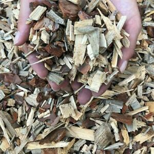 Bark Mulch & Wood Chips nature Colour 1/2litre(0.1gallon)Decorative