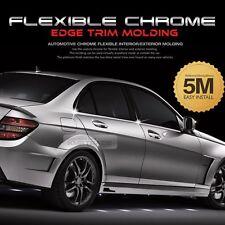 Flexible Chrome Edge 196.85inch Molding Accessory Garnish Cover For All Car