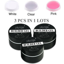 3pcs/set Strong UV builder gel Nail Art Tips Extension Nail Salon SPA Manicure