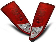 NEW SET REAR TAIL LIGHTS RHD LDFO04 FORD FOCUS MK1 10.98-10.04 HB RED WHITE LED