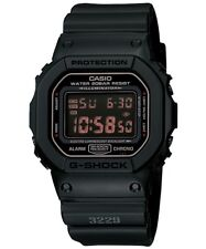 Casio G-Shock Military Matt Black Digital Watch G-Shock DW5600MS-1 DW-5600MS-1DR