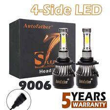 2X 9006 HB4 9012 CREE LED Headlight Bulbs 200W 20000LM White VS Halogen Xenon