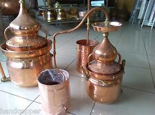 Bain Marie with Lentil Distillery 30 liters * Alambicco * Alembic *Still* copper