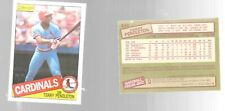 1985 O Pee Chee Terry Pendleton 346 Rookie St Louis Cardinals Baseball Card