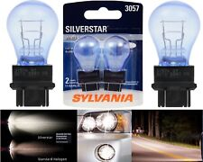 Sylvania Silverstar 3057 26.9/6.7W Two Bulbs Turn Signal Stop Brake DRL Marker