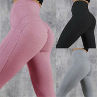 FITTOO Women's Yoga Pants High Waist Hip Lift Seamless Workout Ruched Leggings