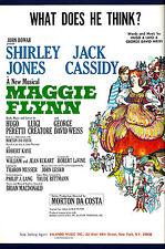 "Jack Cassidy ""MAGGIE FLYNN"" Shirley Jones / Irene Cara 1968 Broadway Sheet Music"